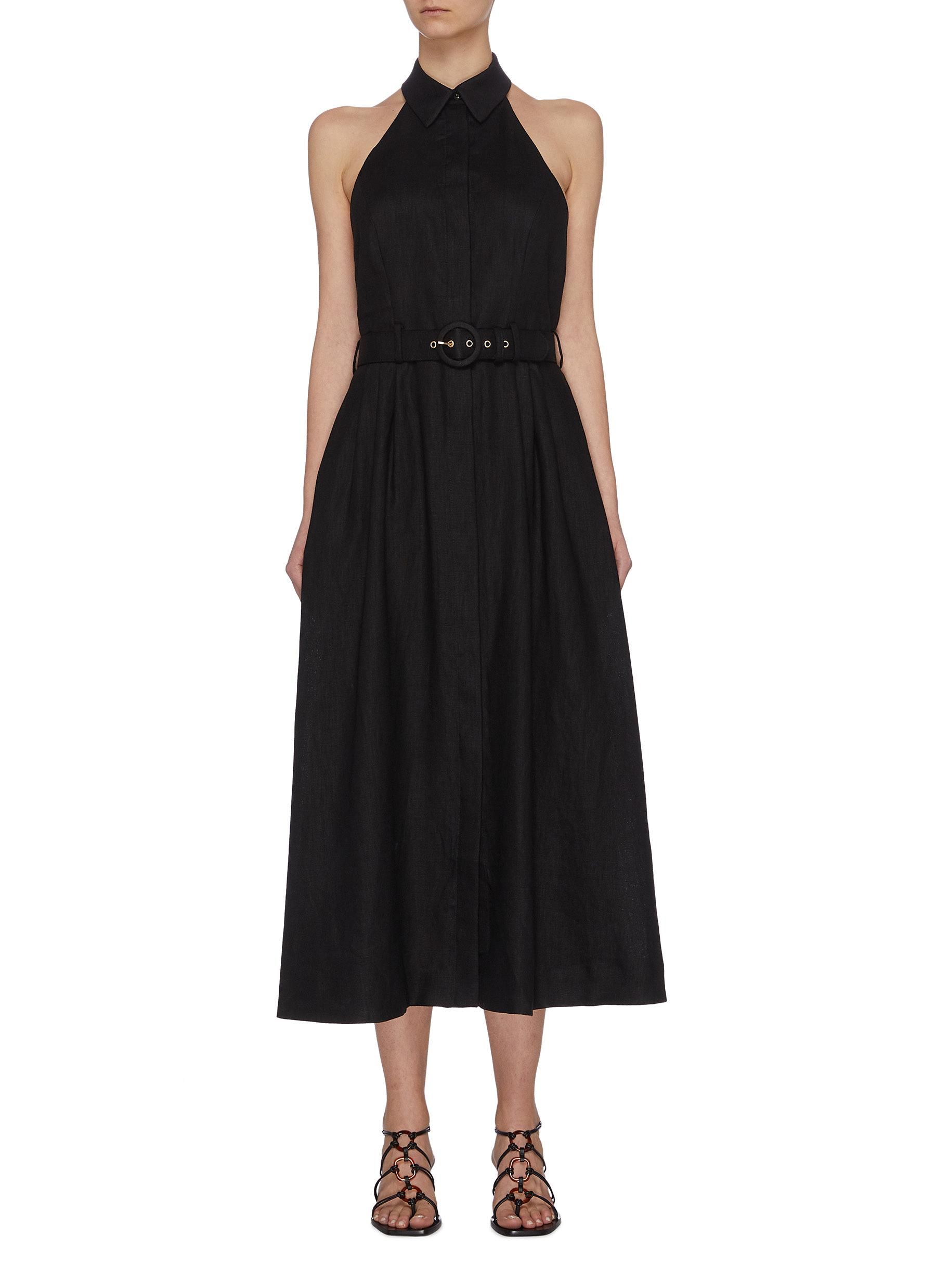 Buy Zimmermann Dresses 'Bonita' halterneck long dress