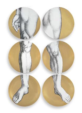 Detail View - Click To Enlarge - Fornasetti - Adamo wall plate set