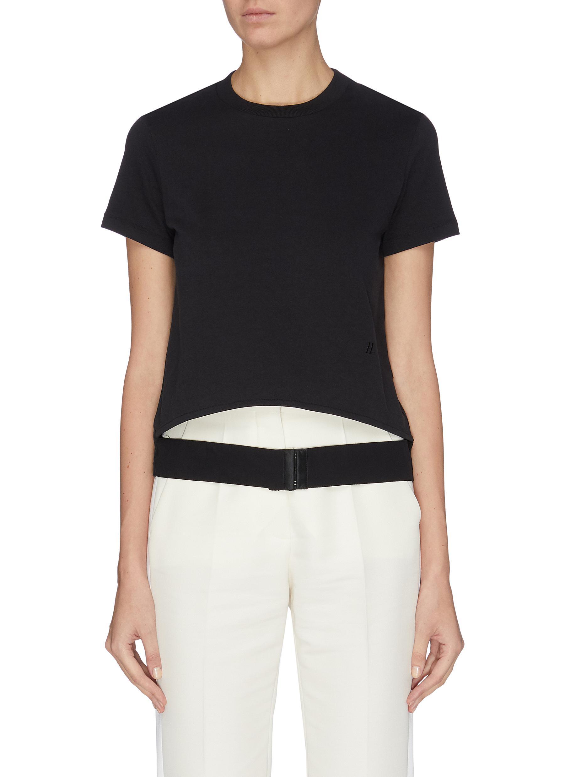 shop Helmut Lang 'Femme' belted T-shirt online