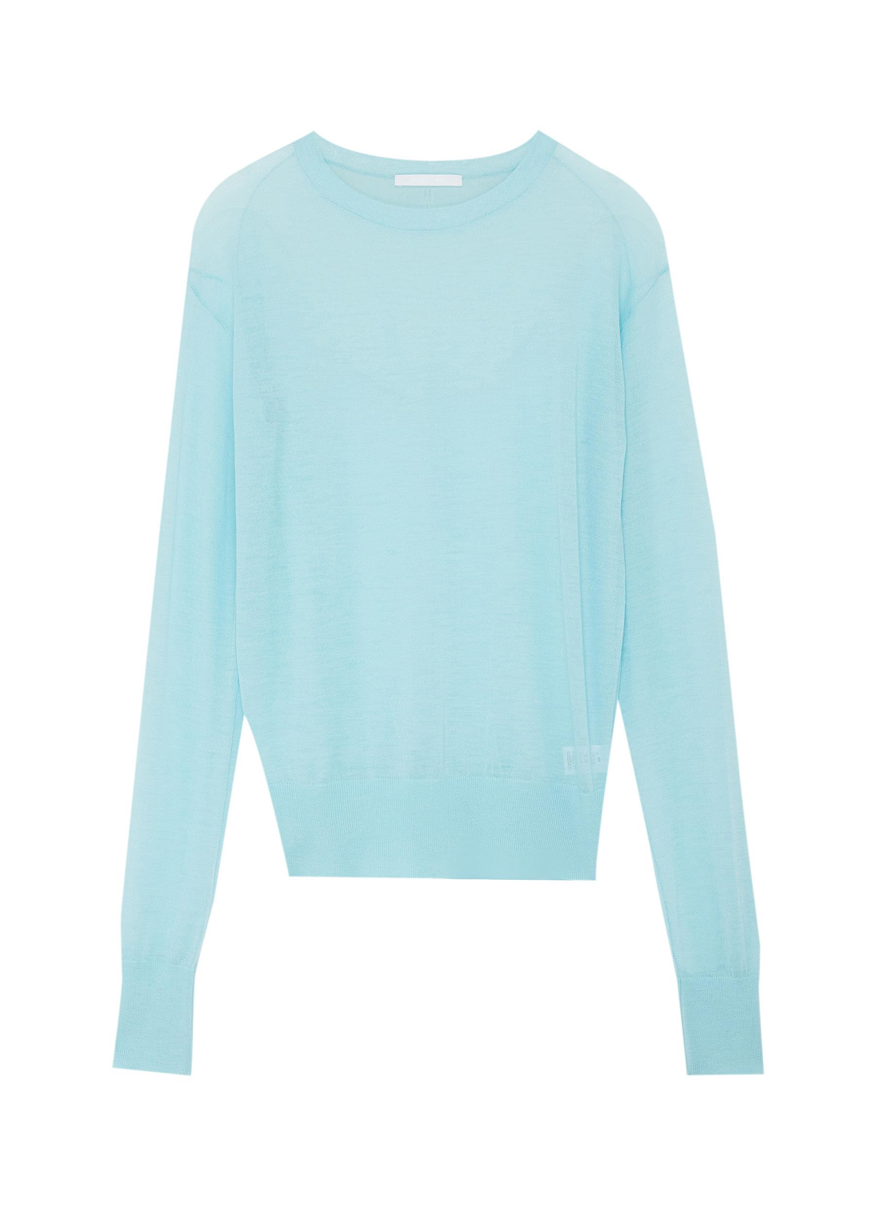 shop Helmut Lang Sheer cashmere top online