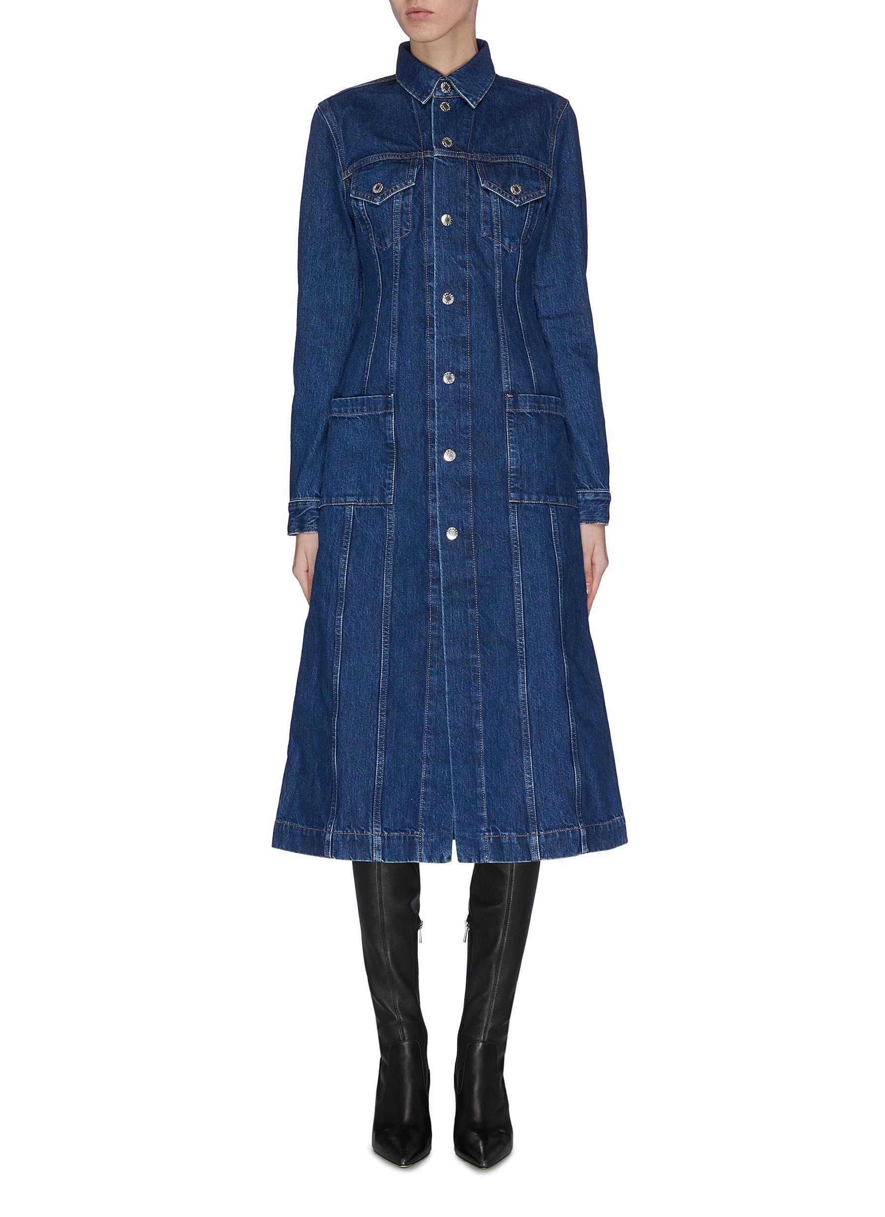 shop Helmut Lang Denim trucker coat online