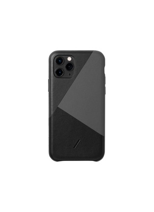 Main View - Click To Enlarge - NATIVE UNION - Clic Marquetry iPhone 11 Pro case – Black