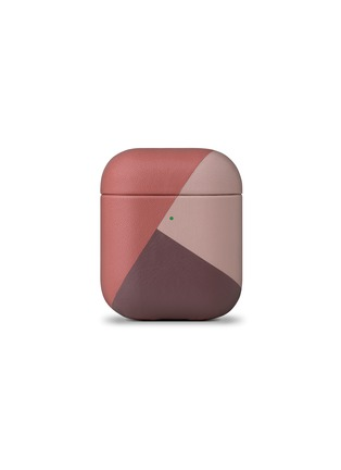 Main View - Click To Enlarge - NATIVE UNION - Marquetry AirPods case – Rose