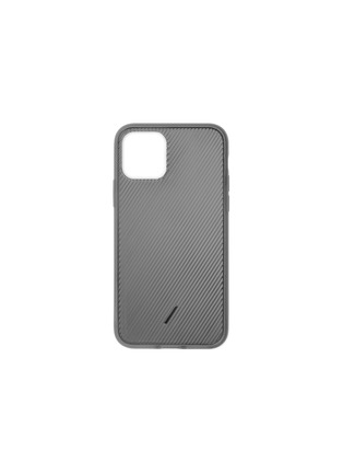 Main View - Click To Enlarge - NATIVE UNION - Clic View iPhone 11 Pro case – Smoke
