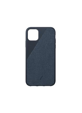Main View - Click To Enlarge - NATIVE UNION - Clic Canvas iPhone 11 Pro Max case – Indigo