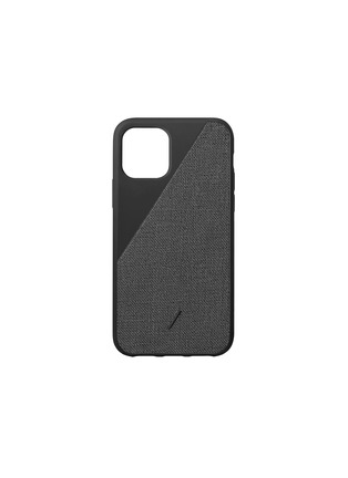 Main View - Click To Enlarge - NATIVE UNION - Clic Canvas iPhone 11 Pro case – Black