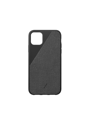 Main View - Click To Enlarge - NATIVE UNION - Clic Canvas iPhone 11 Pro Max case – Black
