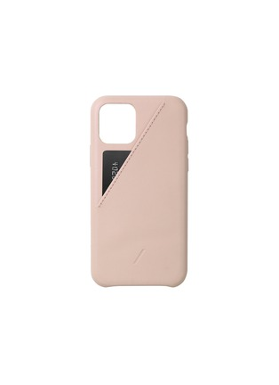 Main View - Click To Enlarge - NATIVE UNION - Clic Card iPhone 11 Pro case – Nude