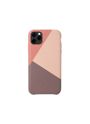 Main View - Click To Enlarge - NATIVE UNION - Clic Marquetry iPhone 11 Pro Max case – Rose