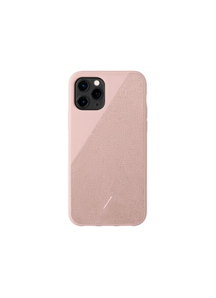Main View - Click To Enlarge - NATIVE UNION - Clic Canvas iPhone 11 Pro case – Rose