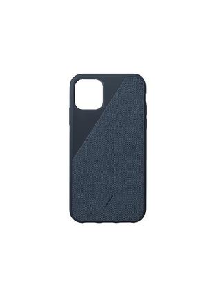 Main View - Click To Enlarge - NATIVE UNION - Clic Canvas iPhone 11 case – Indigo