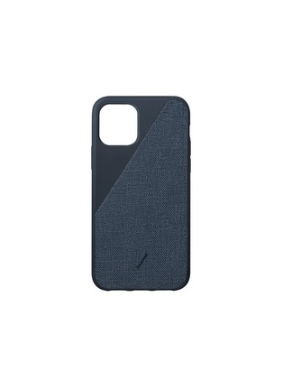 Main View - Click To Enlarge - NATIVE UNION - Clic Canvas iPhone 11 Pro case – Indigo