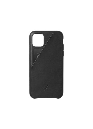 Main View - Click To Enlarge - NATIVE UNION - Clic Card iPhone 11 Pro Max case – Black