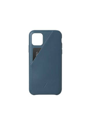 Main View - Click To Enlarge - NATIVE UNION - Clic Card iPhone 11 case – Indigo