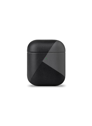 Main View - Click To Enlarge - NATIVE UNION - Marquetry AirPods case – Black