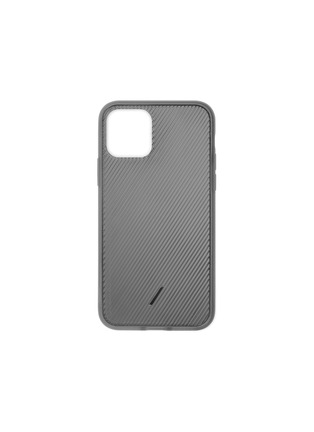 Main View - Click To Enlarge - NATIVE UNION - Clic View iPhone 11 Pro Max case – Smoke