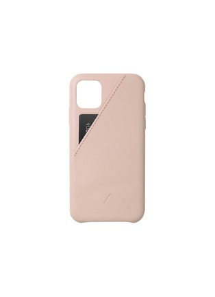 Main View - Click To Enlarge - NATIVE UNION - Clic Card iPhone 11 Pro Max case – Nude