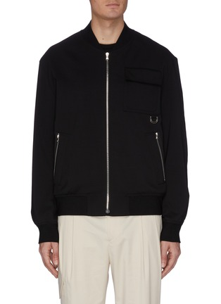 Main View - Click To Enlarge - WOOYOUNGMI - Chest pocket bomber jacket