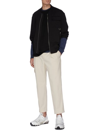 Figure View - Click To Enlarge - WOOYOUNGMI - Chest pocket bomber jacket