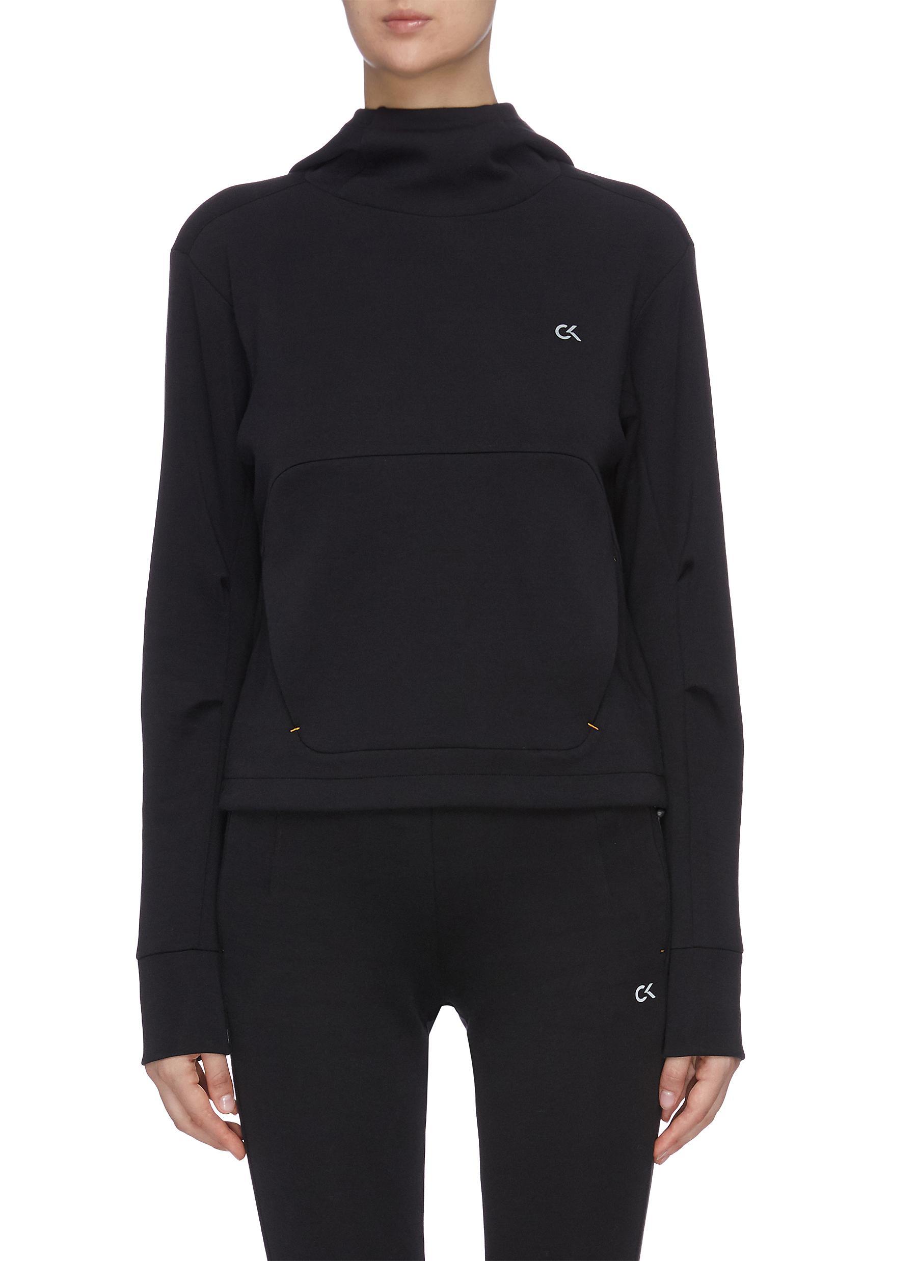 Buy Calvin Klein Performance Tops Logo print hoodie