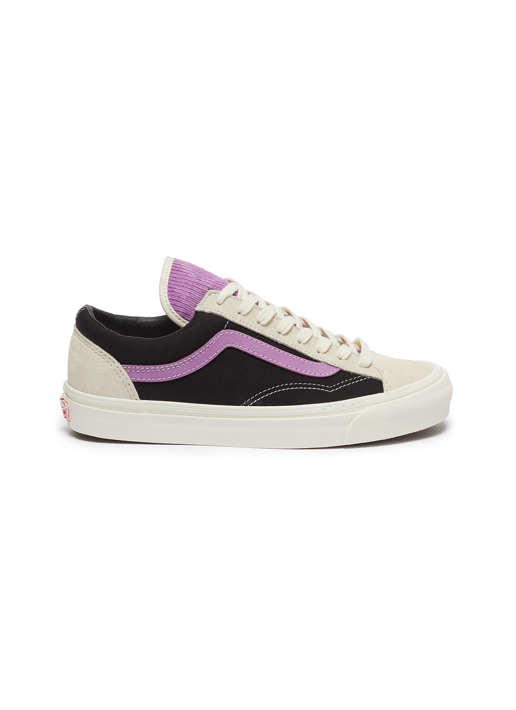 Vans Sneakers OG Style 36 LX colourblock corduroy tongue sneakers