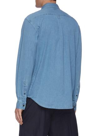 Back View - Click To Enlarge - ACNE STUDIOS - Denim shirt