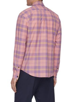 Back View - Click To Enlarge - ACNE STUDIOS - Classic check shirt