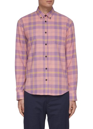 Main View - Click To Enlarge - ACNE STUDIOS - Classic check shirt