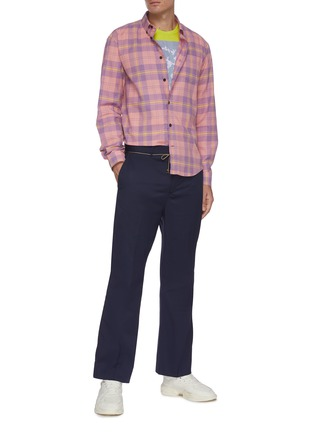 Figure View - Click To Enlarge - ACNE STUDIOS - Classic check shirt