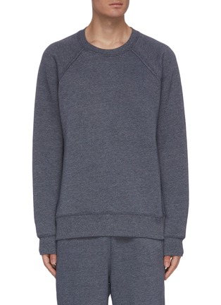 Main View - Click To Enlarge - ACNE STUDIOS - Back patch label sweatshirt