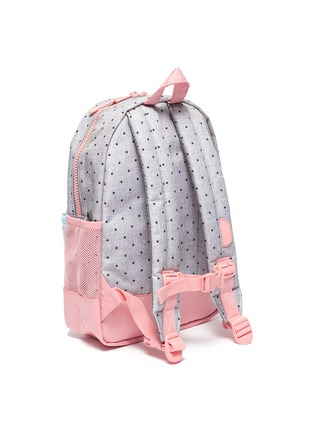 Detail View - Click To Enlarge - THE HERSCHEL SUPPLY CO. - 'Heritage' polka dot print colourblock kids backpack