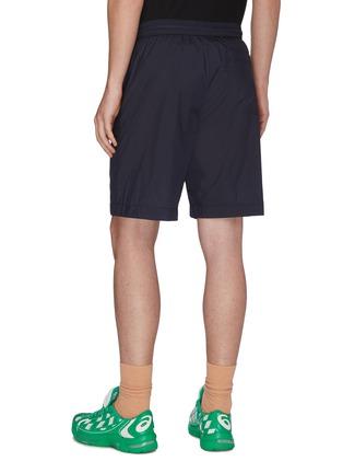 Back View - Click To Enlarge - ACNE STUDIOS - Elastic waistband nylon shorts