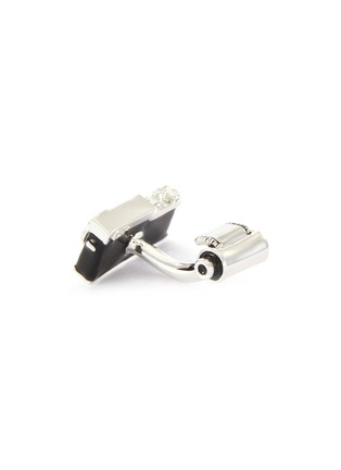 Detail View - Click To Enlarge - BABETTE WASSERMAN - Camera and film cufflinks