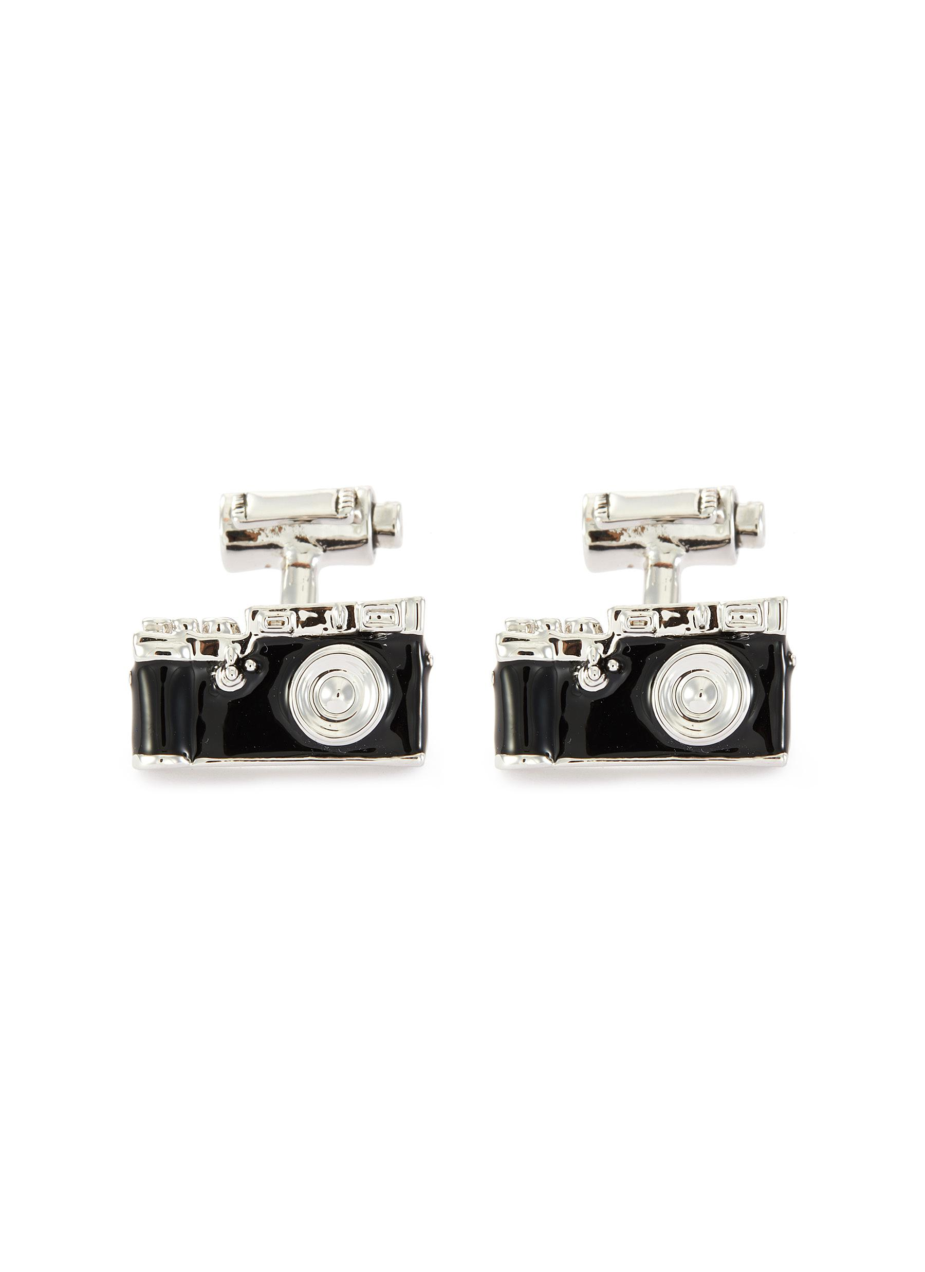 Camera and film cufflinks