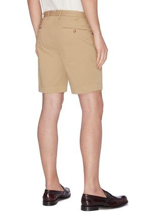 Back View - Click To Enlarge - INCOTEX - Cotton Bermuda shorts
