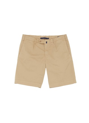 Main View - Click To Enlarge - INCOTEX - Cotton Bermuda shorts