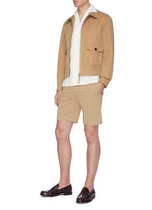 Figure View - Click To Enlarge - INCOTEX - Cotton Bermuda shorts