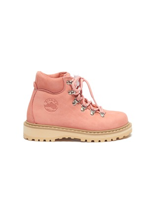 Main View - Click To Enlarge - DIEMME - 'Roccia Viet' nubuck leather kids hiking boots