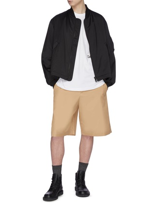 Figure View - Click To Enlarge - OAMC - Gabardine shorts