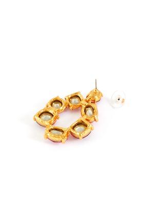 Detail View - Click To Enlarge - OSCAR DE LA RENTA - Bold crystal earrings