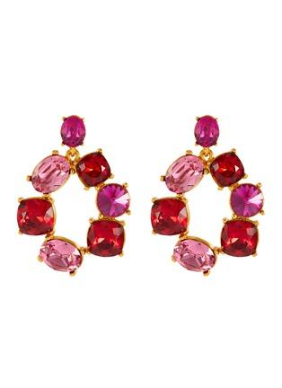 Main View - Click To Enlarge - OSCAR DE LA RENTA - Bold crystal earrings