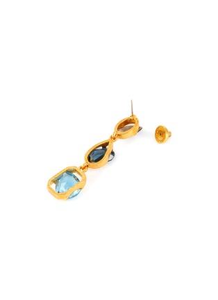 Detail View - Click To Enlarge - OSCAR DE LA RENTA - Swarovski crystal drop earrings