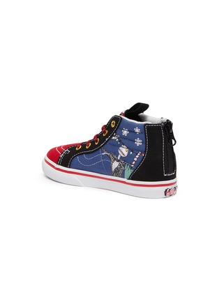 Detail View - Click To Enlarge - VANS - 'Christmas Town' zip toddler canvas sneakers