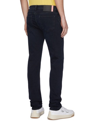 Back View - Click To Enlarge - ACNE STUDIOS - Dark wash skinny jeans