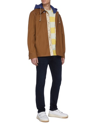 Figure View - Click To Enlarge - ACNE STUDIOS - Dark wash skinny jeans