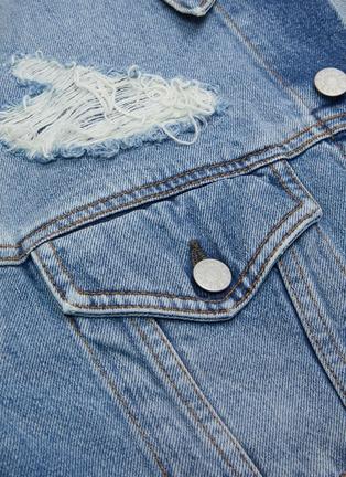 - ACNE STUDIOS - Distressed denim jacket