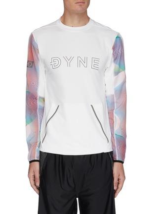 Main View - Click To Enlarge - DYNE - Renzo' graphic sleeve sweatshirt