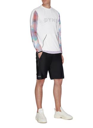 Figure View - Click To Enlarge - DYNE - Renzo' graphic sleeve sweatshirt