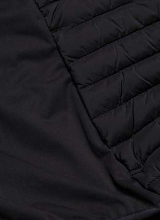 - SAVE THE DUCK - 'Mibax' panelled quilted jacket