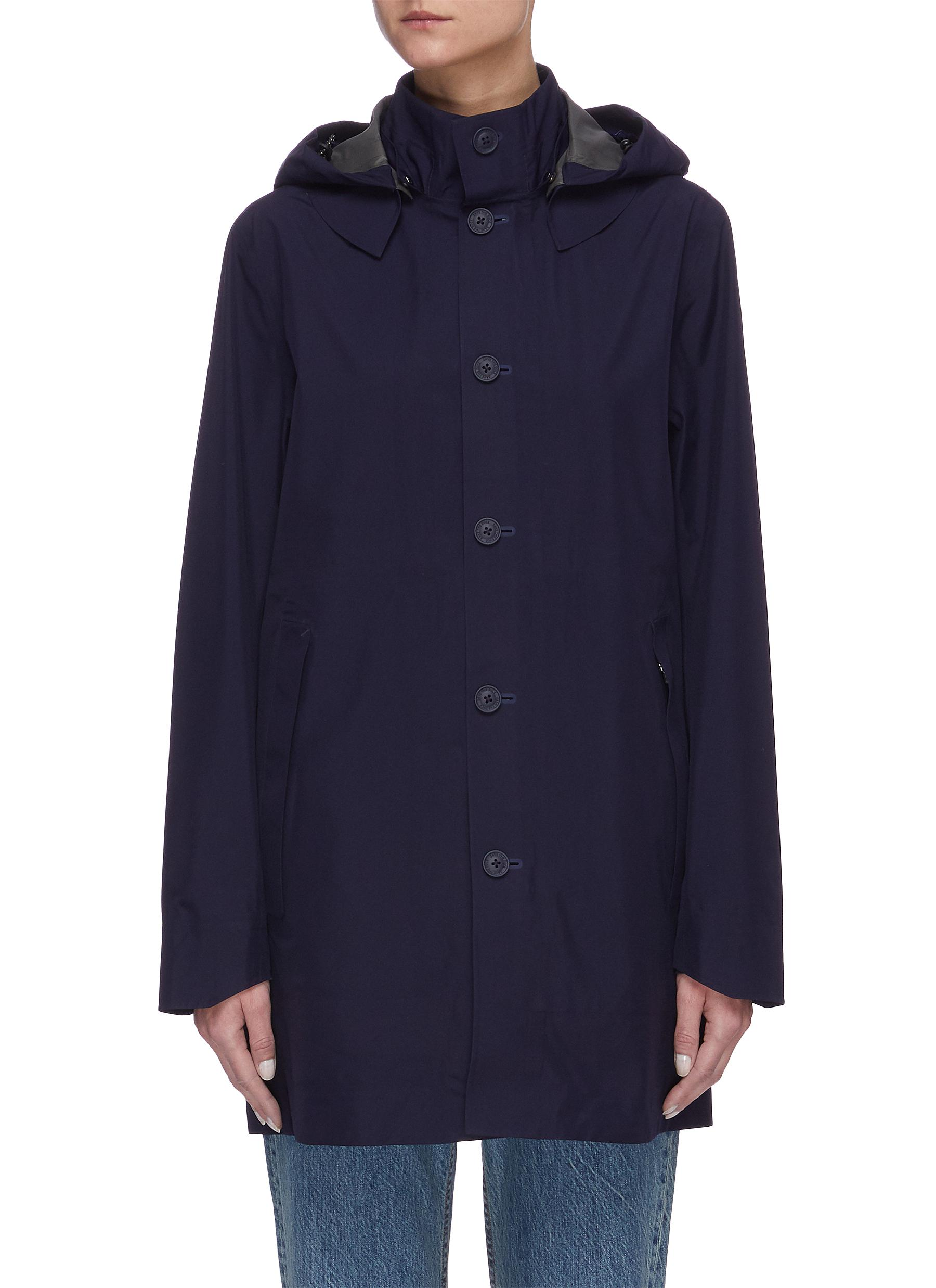 Buy Save The Duck Jackets 'Iconx' Hooded long shell jacket